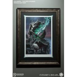 SIDESHOW - ARTPRINT OGLAVAEIL - FRAMED