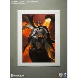 SIDESHOW - ARTPRINT  BATMAN - UNFRAMED