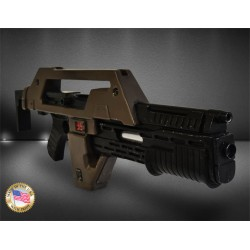 REPLIQUE ALIENS PULSE RIFLE BROWN BESS WEATHERED Ver.- HCG