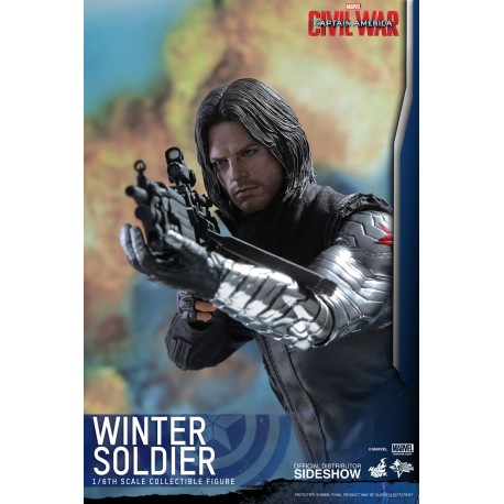 HOT TOYS - WINTER SOLDIER CIVIL WAR 1/6