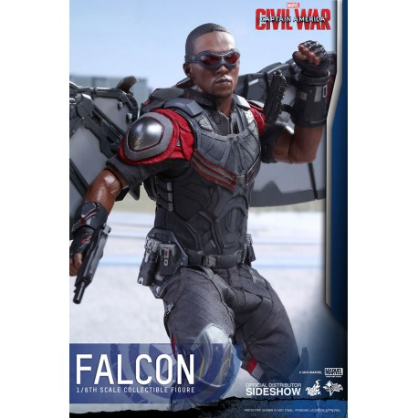 HOT TOYS - FALCON CIVIL WAR 1/6