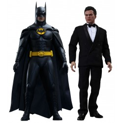 HOT TOYS - BATMAN ET BRUCE WAYNE FIGURE SET 1/6