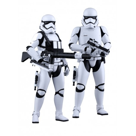 HOT TOYS - FIRST ORDER STORMTROOPERS SET - STAR WARS 1/6
