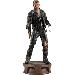 SIDESHOW - T800 BATTLE DAMAGED PREMIUM FORMAT TERMINATOR