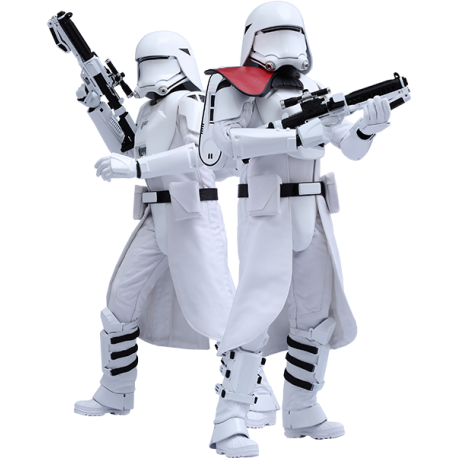 HOT TOYS - FIRST ORDER SNOWTROOPERS SET - STAR WARS 1/6