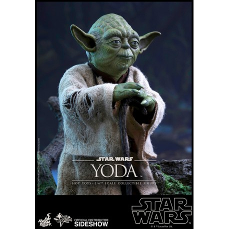 HOT TOYS - STAR WARS - YODA 1/6