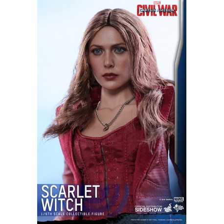 HOT TOYS - CAPTAIN AMERICA CIVIL WAR - SCARLET WITCH 1/6