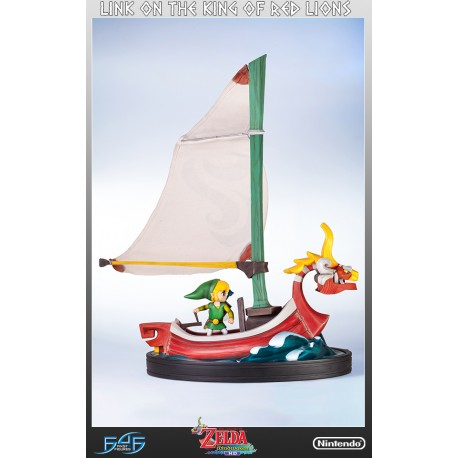 FIRST 4 FIGURES -  The Legend of Zelda: The Windwaker ‐ Link on The King of Red Lions
