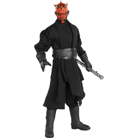 SIDESHOW - STAR WARS - DARTH MAUL DUEL ON NABOO 1/6