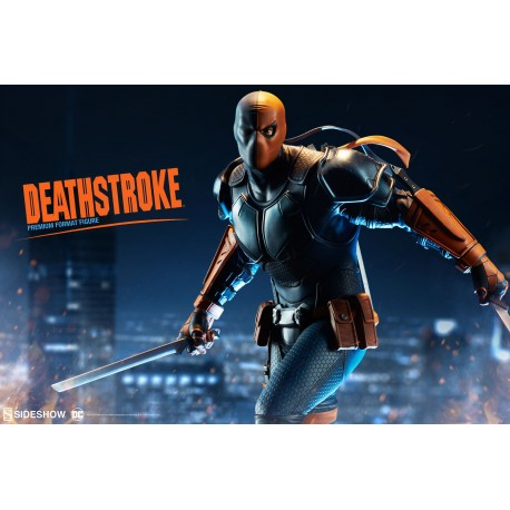 SIDESHOW -DEATHSTROKE - PREMIUM FORMAT
