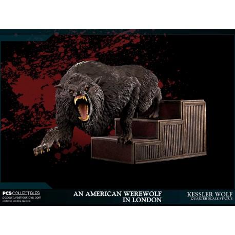 POP CULTURE SHOCK - AN AMERICAN WEREWOLF IN LONDON : Kessler Wolf 1/4