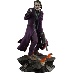 SIDESHOW - THE JOKER THE DARK KNIGHT - PREMIUM FORMAT
