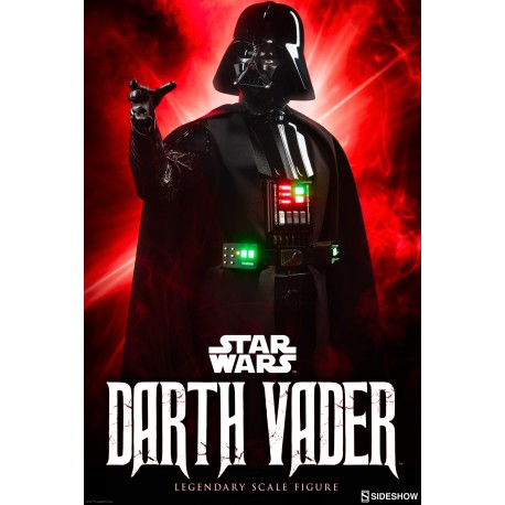 SIDESHOW - STAR WARS - DARTH VADER - LEGENDARY SCALE