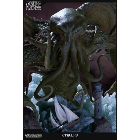POP CULTURE SHOCK - H.P. Lovecraft's Museum of Madness: CTHULHU STATUE