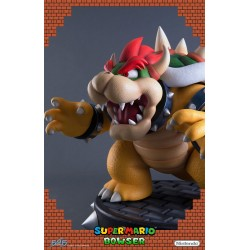 FIRST 4 FIGURES - SUPER MARIO - BOWSER STATUE