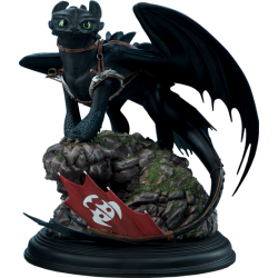 SIDESHOW - DRAGONS - TOOTHLESS - STATUE