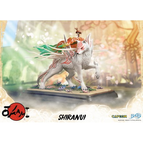 FIRST 4 FIGURES -  OKAMI : SHIRANUI STATUE