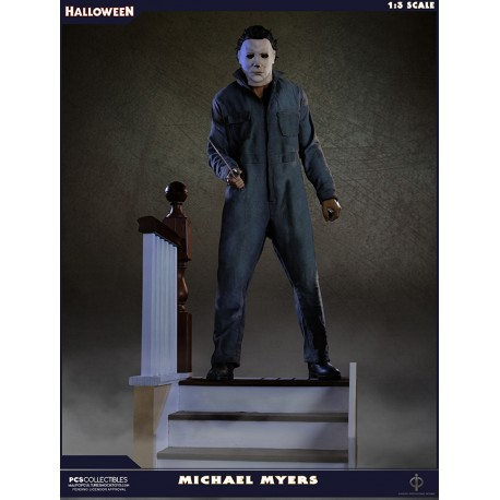POP CULTURE SHOCK - HALLOWEEN : MICHAEL MYERS STATUE 1/3