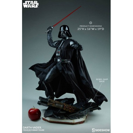 SIDESHOW - STAR WARS ROGUE ONE : DARTH VADER - PREMIUM FORMAT