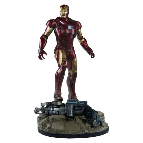 SIDESHOW - IRON MAN MARK III -  MAQUETTE