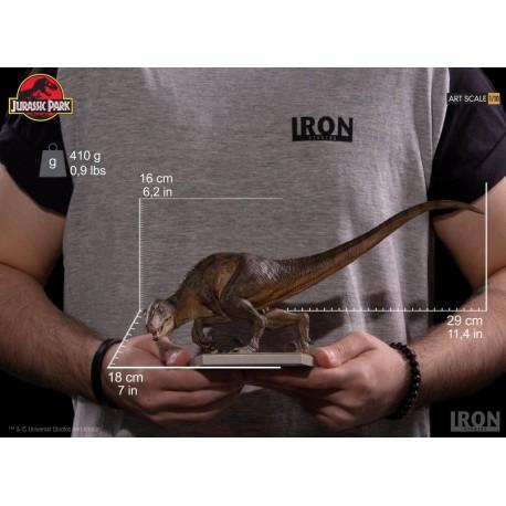 IRON STUDIOS - CROUCHING VELOCIRAPTOR ART SCALE 1/10