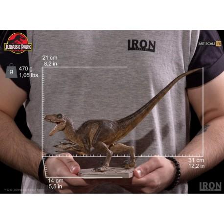 IRON STUDIOS - VELOCIRAPTOR ATTACK ART SCALE 1/10