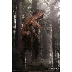DAM TOYS - CARNOTAURUS RED VERSION STATUE - EXCLU