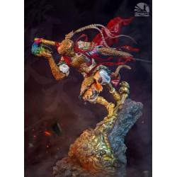 INFINITY STUDIO - MYTHOLOGY SERIES : MONKEY KING version Rouge