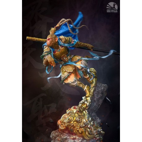 INFINITY STUDIO - MYTHOLOGY SERIES : MONKEY KING version Bleue
