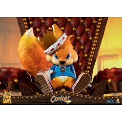 FIRST 4 FIGURES -  CONKER'S BAD FUR DAY : CONKER STATUE