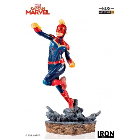 IRON STUDIOS - CAPTAIN MARVEL ART SCALE 1/10
