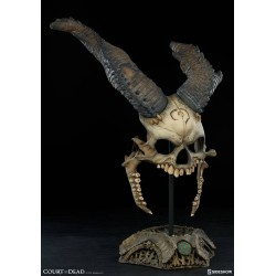 SIDESHOW - COURT OF THE DEAD - KIER : BANE OF HEAVEN MASK 1/1