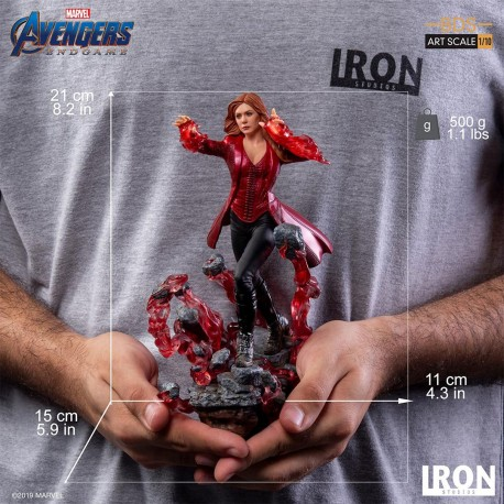 IRON STUDIOS - SCARLET WITCH ART SCALE 1/10