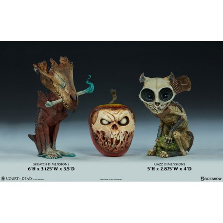 SIDESHOW - COURT CRITTERS - PACK RIAZZ & SKRATCH STATUES