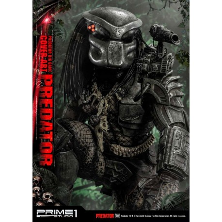 PRIME 1 STUDIO - PREDATOR BIG GAME COVER ART DELUXE STATUE 1/4