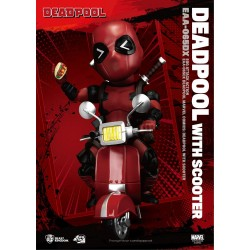 BEAST KINGDOM - MARVEL EGG ATTACK: DEADPOOL WITH SCOOTER DELUXE