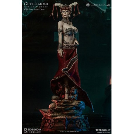 SIDESHOWxTBLEAGUE- COURT OF THE DEAD - GETHSEMONI THE DEAD QUEEN 1/6