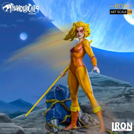 IRON STUDIOS - THUNDERCATS:  CHEETERA - ART SCALE 1/10
