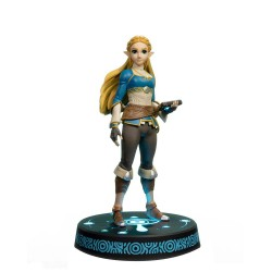 FIRST 4 FIGURE -  THE LEGEND OF ZELDA BREATH OF THE WILD - ZELDA STATUE PVC COLLECTOR