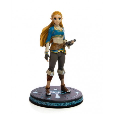 FIRST 4 FIGURE -  THE LEGEND OF ZELDA BREATH OF THE WILD - ZELDA STATUE PVC