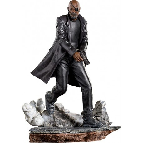 IRON STUDIOS - SPIDER-MAN FAR FROM HOME - NICK FURY 1/10