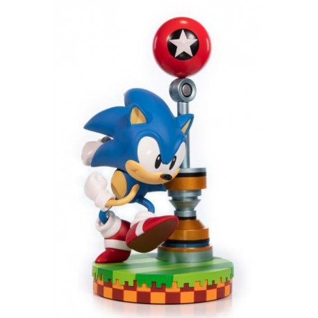 FIRST 4 FIGURE -  SONIC THE HEDGEHOG STATUE PVC