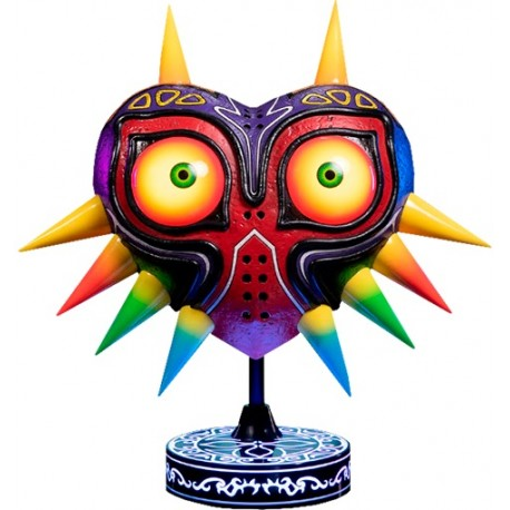FIRST 4 FIGURE -  THE LEGEND OF ZELDA - MAJORA'S MASK STATUE PVC COLLECTOR