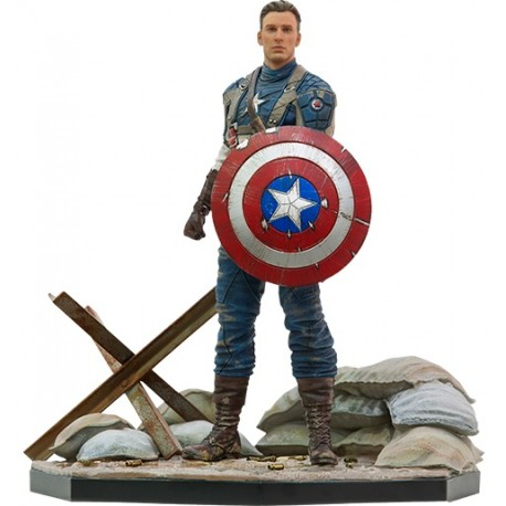 IRON STUDIOS - CAPTAIN AMERICA FIRST AVENGER MCU 10 Years Event EX 1/10