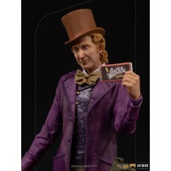 IRON STUDIOS - CHARLIE & LA CHOCOLATERIE - WILLY WONKA DELUXE ART SCALE 1/10