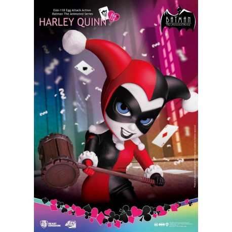 BEAST KINGDOM - BATMAN ANIMATED EGG ATTACK:  HARLEY QUINN