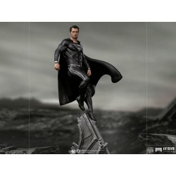 IRON STUDIOS - JUSTICE LEAGUE - SUPERMAN BLACK SUIT ART SCALE 1/10