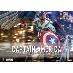 HOT TOYS - THE FALCON AND THE WINTER SOLDIER - CAPTAIN AMERICA 1/6