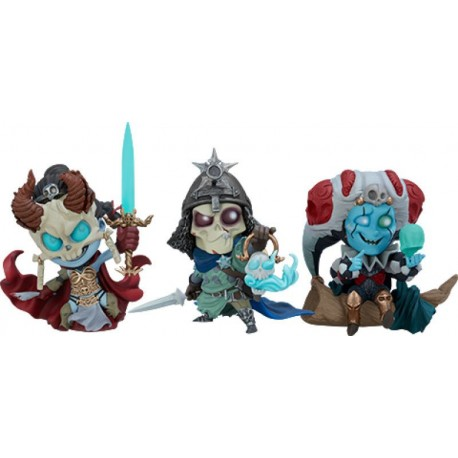 SIDESHOW - COURT OF THE DEAD - COURT-TOONS COLLECTIBLE SET
