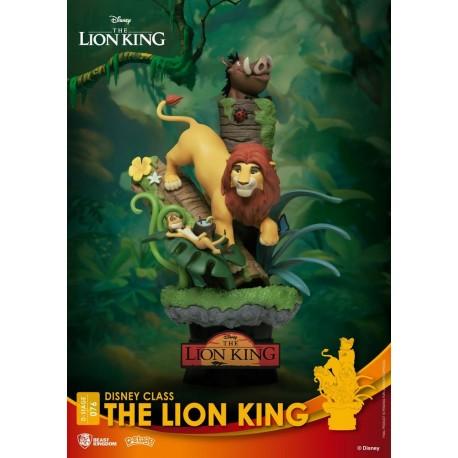 BEAST KINGDOM - DISNEY - LE ROI LION DIORAMA PVC